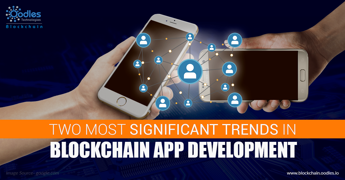 the Blockchain app development