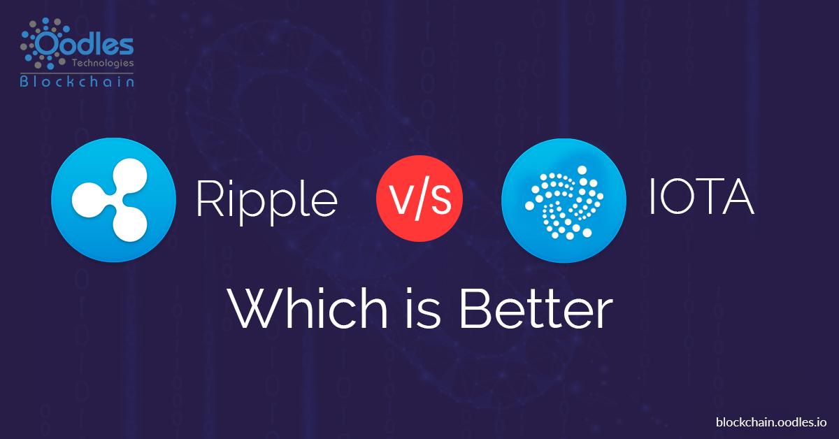 Ripple vs Iota: Which is Better