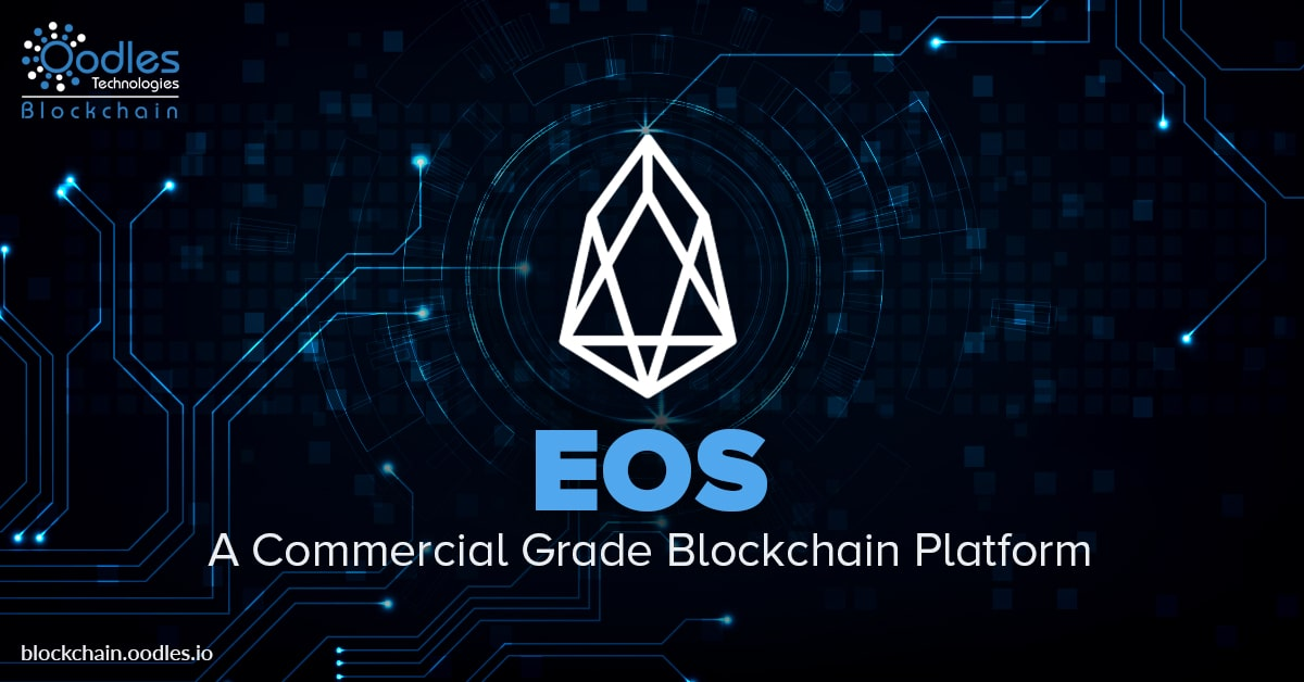 EOS blockchain platform