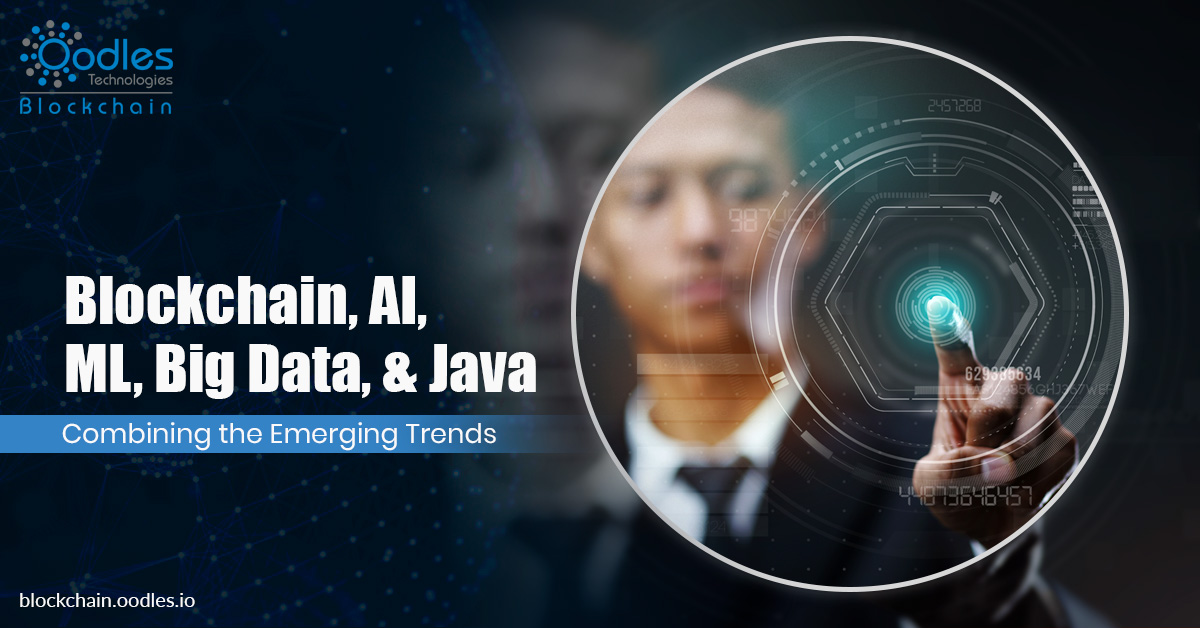 Application Development using Blockchain, AI, ML, Big Data and Java