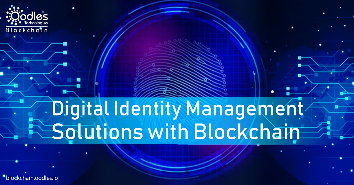 Blockchain Based Identity Management
